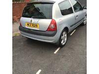 Renault Clio 2002 cheap £295ono