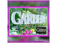 Light up garden sign