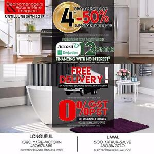Accord D 0%, 50% off Extended Warranty on APPLIANCES and PLUMBING...