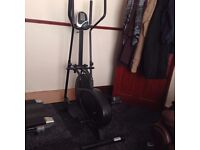 Black Sports Fitness Elliptical Cross Trainer - Fully Functional & Very Good Condition Overall