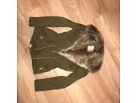 Zara olive green jacket