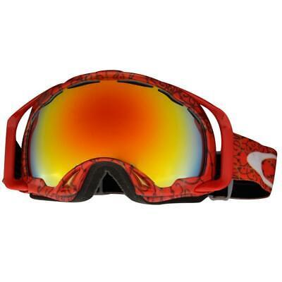 Oakley 01-805 Splice Simon Dumont Griffin Red Fire Lens Mens Snow Ski Goggles .