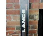 Pair of Lang Equip Saloman Alved Core Skis. Made in Switzerland