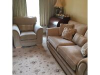 3 Piece Sovereign Suite - Sofa + Chairs - Near New