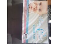 Baby Control Digital respiratory movement monitor and alarm system