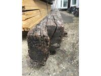 Aged wooden beam (very old)