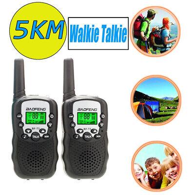 2X Handheld Walkie Talkie Radio Transceiver Communicator Long Range (Communication Range)