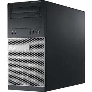 Dell OptiPlex 9020 Mini Tower Workstation i7-4770 @ 3.40GHz, 16GB RAM, 2TB HDD, 2GB NVIDIA Quadro K620, Windows 7 Pro