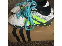 Size 10 addidas football boots