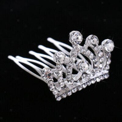 m Haarschmuck Brautschmuck für Hochzeit (Mini-tiara)