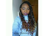 Afro hairdresser: Natural Hair Updos, Box Braids & More
