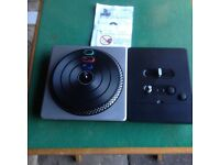 DJ HERO TURNTABLE CONTROLLER FOR WII