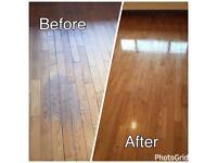 Wooden floor sanding & polishing