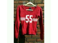 Red Sweater from Wet Seal size S