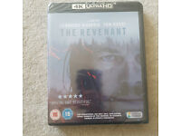 New and sealed 4K Ultra HD Blu-ray The Revenant