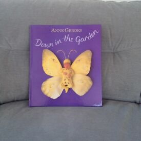 Anne Geddes Large Hardback Coffee Table Book 'Down In The Garden'