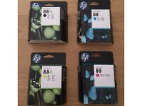 Genuine HP Officejet 88 Ink Cartridges