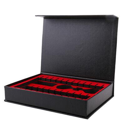 12stk. EVA und Samt Dartpfeile Tasche Box Koffer Case, Dartpfeile Zubehör,