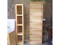 Pine Billy Bookcase