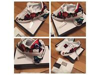 Gucci Unisex Sneakers Shoes Box & Dustbag Size 6 to 10.5