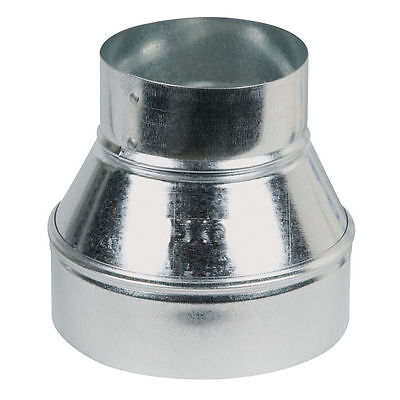 """6' x 5"""" Single Wall Galvanized Metal Duct Reducer 6"""" to 5"""",New, Buy 4 Get 1 Free"""