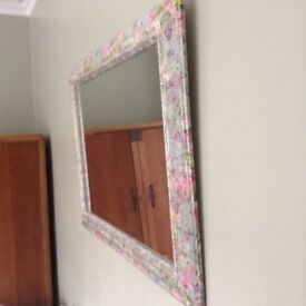 Beautiful bespoke mirror
