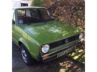 VW Mark 1 Golf 1976