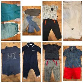 Boys bundle clothes 6-9 months