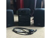 Panasonic SA-CH150, Cassette/Radio/CD Stack
