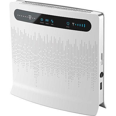 Huawei B593 s12 4G LTE 100M Router WiFi modem Sim USB 3G Umts Ddns SMA 4 x LAN