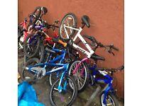spare or repair mountain bike boys and kid