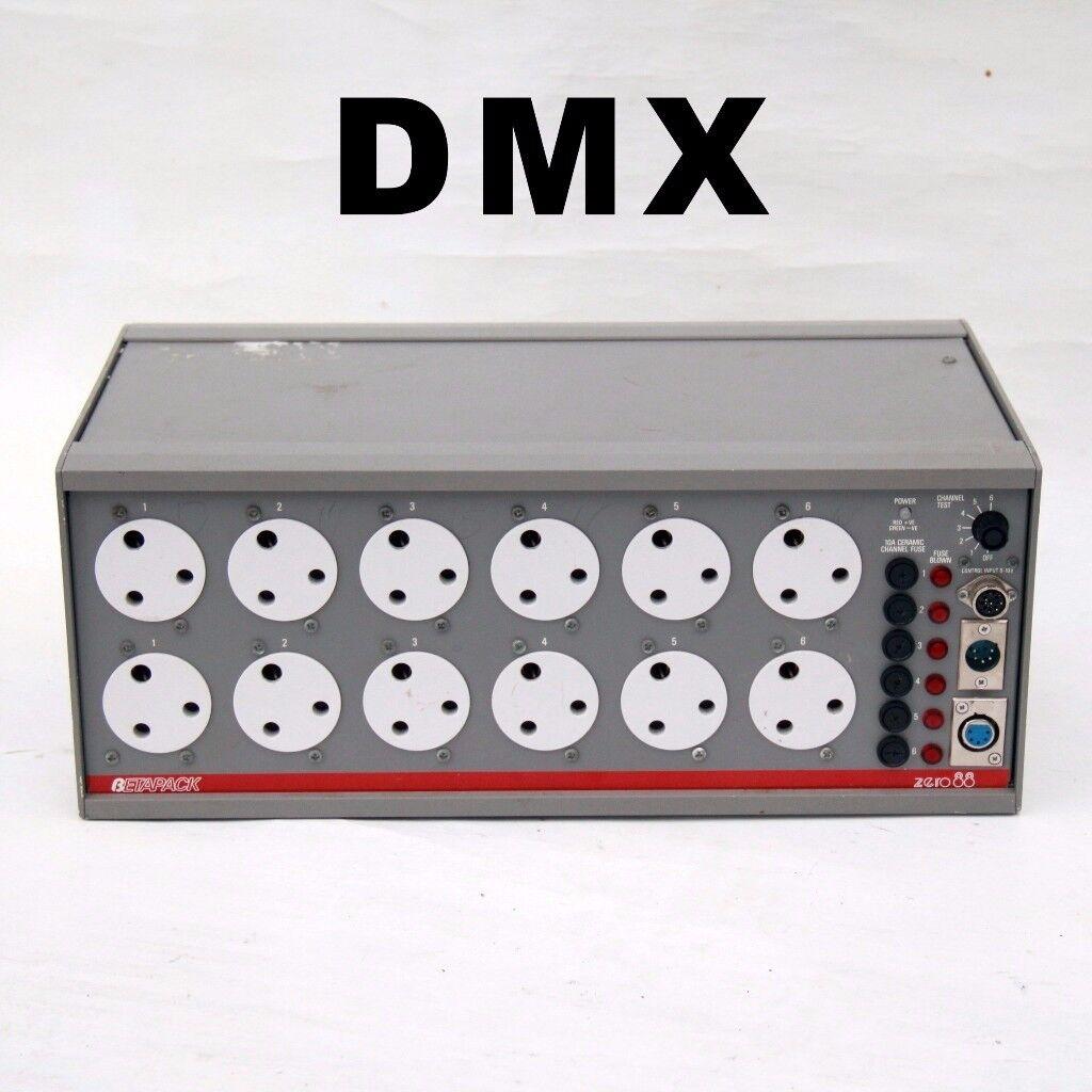 zero 88 betapak 1 dmx dimmer stage theatre lighting