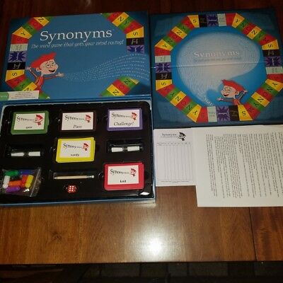 Synonyms The Word Game That Gets Your Mind Racing Family 12