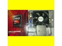 AMD FX-6300 3.5Ghz 6 Core CPU Processor for Socket AM3 BLACK EDITION + Heatsink & Fan BOXED