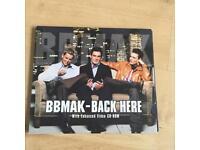 BBMak - Back Here - 3 Track CD Single - UK Release - Slip Case