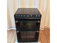 Belling Electric Cooker With Double Oven & Ceramic Hob