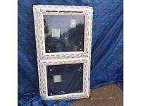 UPVC Window 720mm x 1280mm ref 254,255