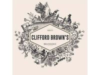 Experienced Chefs Required - Independent and successful Restaurant - Clifford Brown's