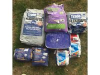 Job Lot Of Tile Adhesives Mapei Tile Grout And PrimeGrip