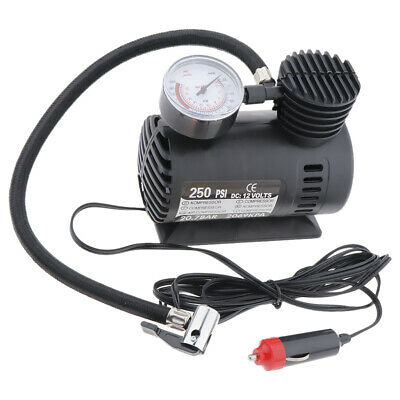 1 Set 12v 300psi Heavy Duty Portable Air Compressor Car Tyre Pump Electric