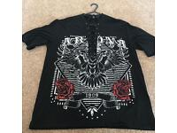 Indie lace up t-shirt