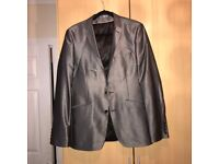 Used Mens Grey Suit (Jacket & Trousers)