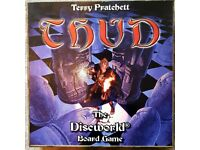 Thud Terry Pratchett Discworld Board Game, Updated Version, Out of Print, Chess-like Strategy Game