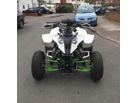 Road legal quad bike Polaris with zx9r Kawasaki 900cc