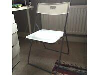 Plain White chair