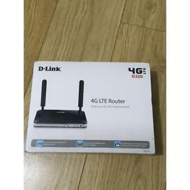 D-Link DWR-921 4G LTE Router Unlocked