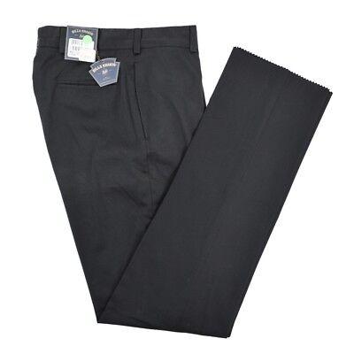 $165 NWT BILLS KHAKIS Black Chamois Cloth Lightweight Cotton Pants Trousers 32