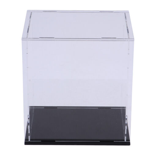 Acrylic Display Case Dustproof Show Box for Doll Action Figu