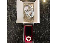 -- 8GB iPod Nano with original accessories --