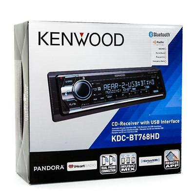 Kenwood KDC-BT768HD 1-DIN Car Stereo In-Dash CD MP3 USB Receiver w/ Bluetooth segunda mano  Embacar hacia Mexico